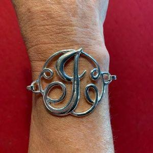"Monogram ""J"" Bracelet"